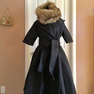 *NWOT* Loft faux fur infinity coat scarf